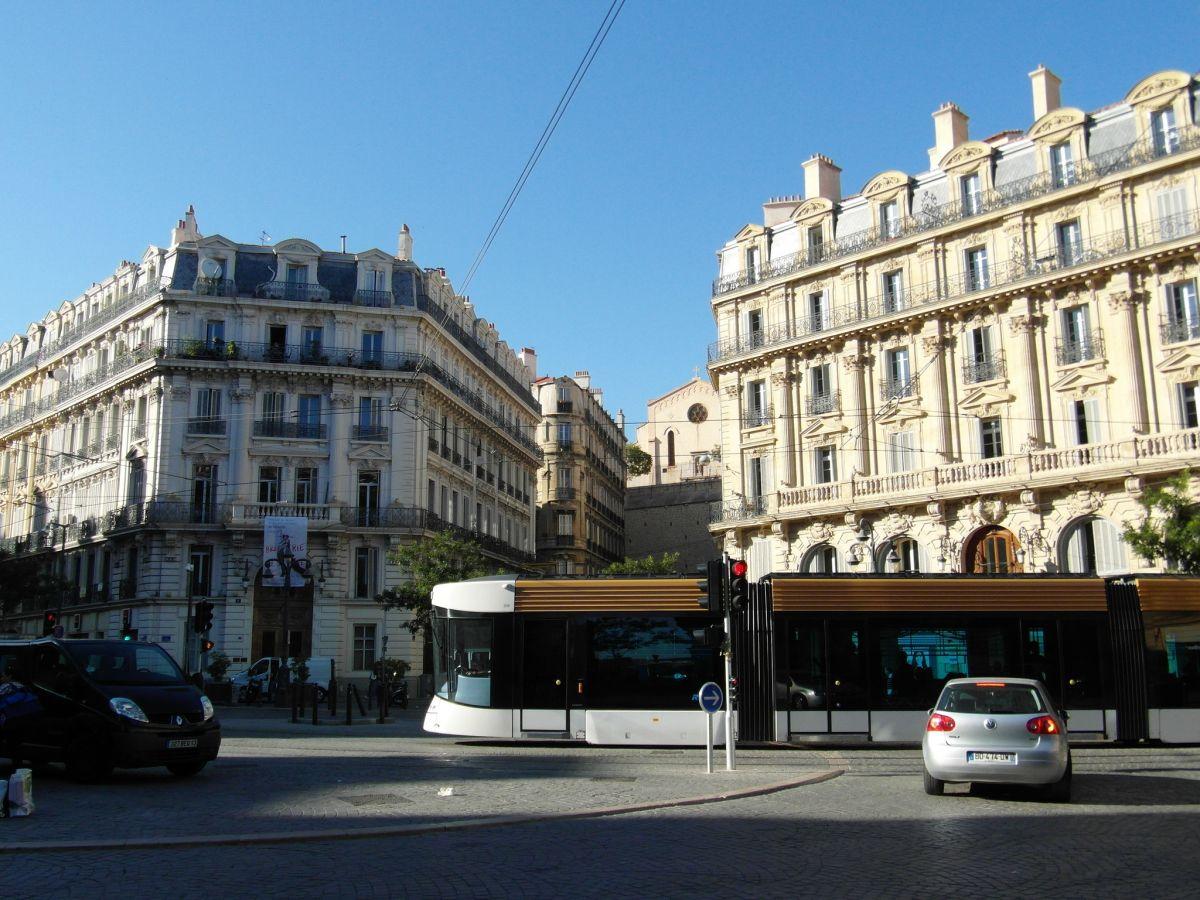 Pro Straßenbahn Berlin - moderne Straßenabahn in Marseille
