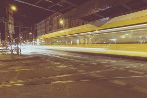 Straßenbahn am U Eberswalder straße