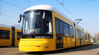 Berliner Flexity-Straßenbahn
