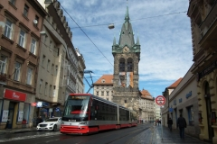 Tram in Prag