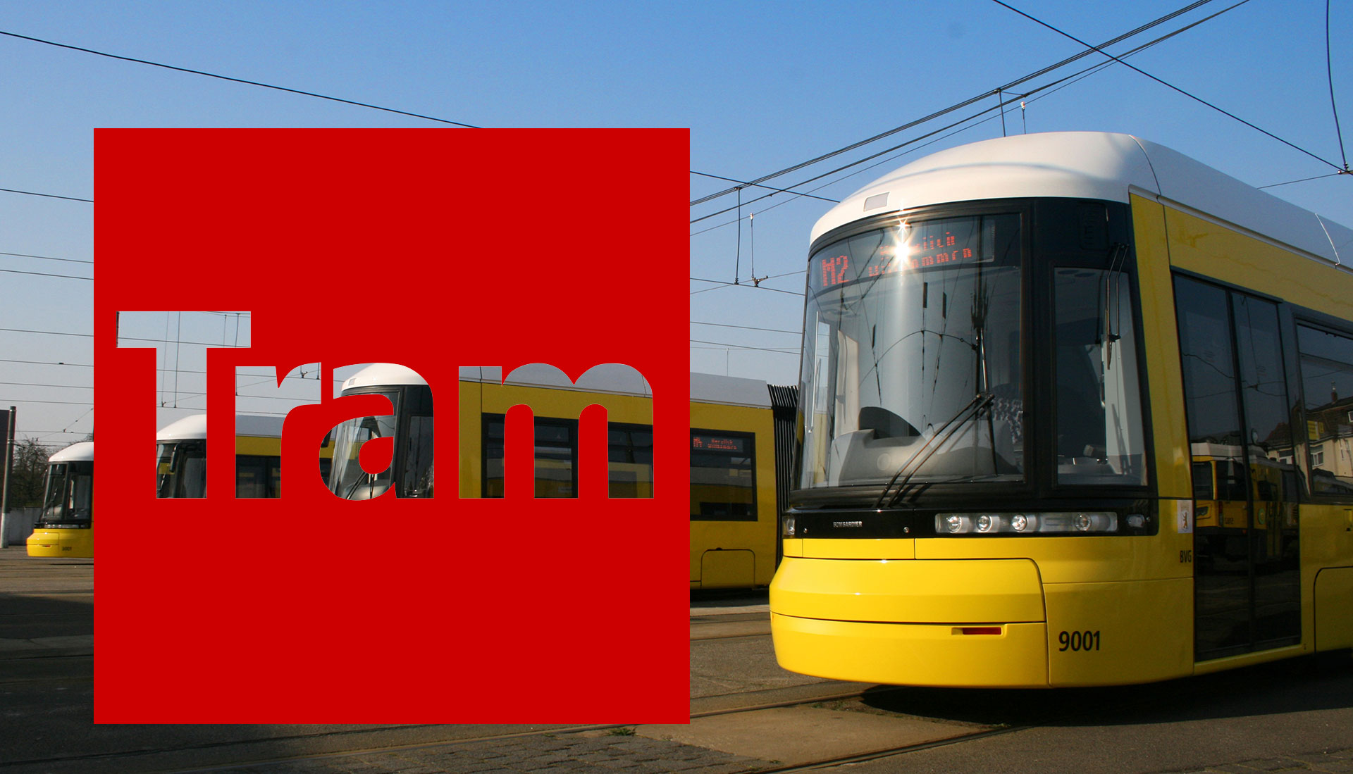 Pro Straßenbahn Berlin - Straßenbahnzug Typ Flexity Berlin
